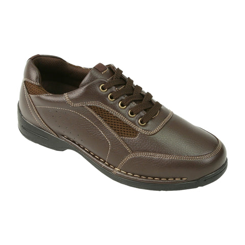 Deer Stags 902 Verge Oxford (wide, dark brown)