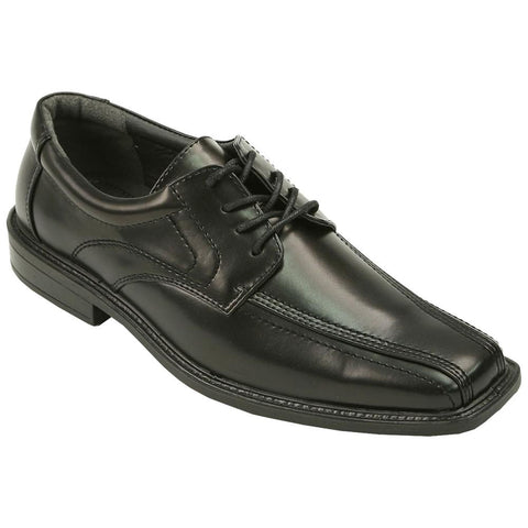 Deer Stags - Men's VEGAN Oxford Shoes - Zoom - (black)