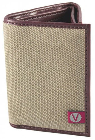 The Vegan Collection Camden Tri-Fold Wallet (brown)