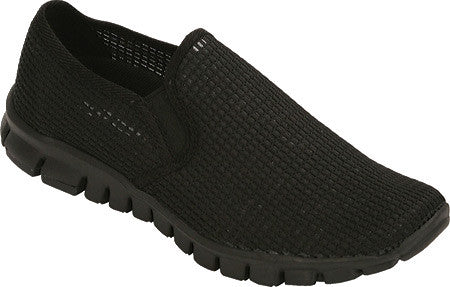 No Sox Wino Women's Mesh Slip On Vegan Shoe (black mesh) Size 12