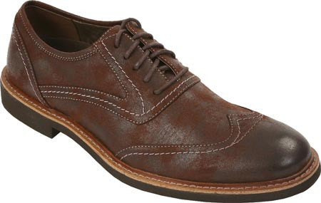 Deer Stags  Abbot Vegan Wingtip Oxford (dark brown)