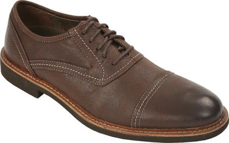 Deer Stags Oakton Vegan Cap-toe Oxford (dark brown)
