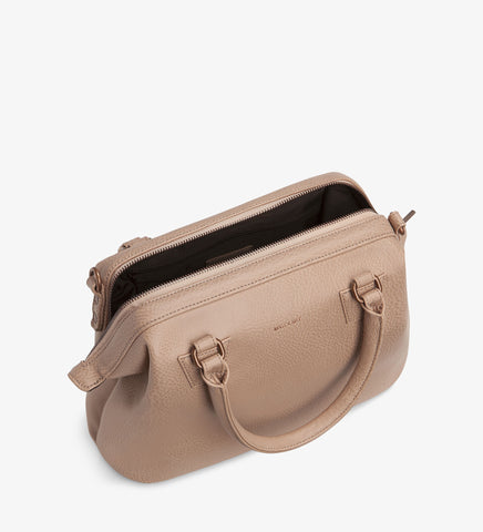 Matt and Nat Malone Doctor Handbag. Macaroon Vegan Leather.