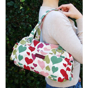 Bungalow360 Mini VEGAN Cotton Bag (Hearts) 70108-HE