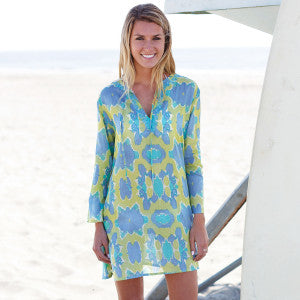 Hillary Lime Beach Tunic by RockFlowerPaper Size Small
