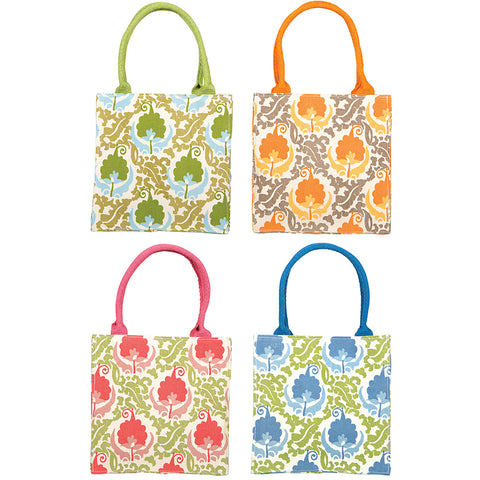 Copy of RockFlowerPaper Isabella Itsy Bitsy Bag-Blue Floral