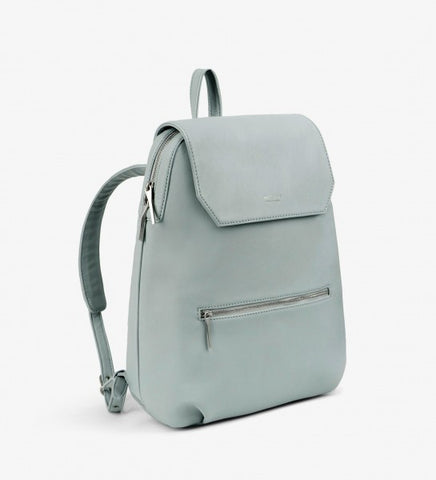 Matt and Nat Peltola Loom Collection Backpack in Clay Blue Vegan Leather