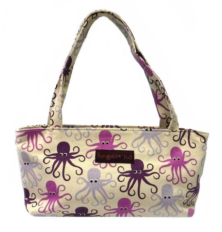 Bungalow360 Mini Vegan Cotton Bag (Octopus)