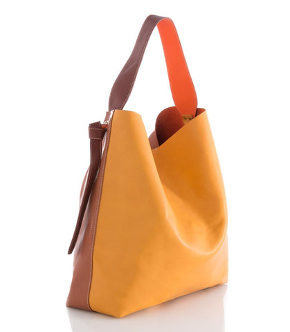 Shiraleah Perrin Hobo in Brown Shades. Vegan Leather.