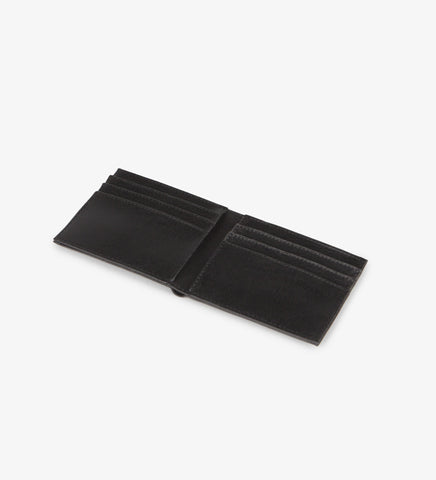 Matt and Nat Men's Rubben Vintage Wallet. Vegan Black Leather.