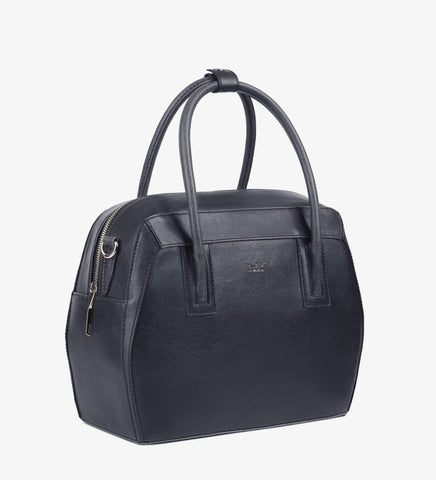 Matt and Nat Tardy Vintage Collection Handbag. Vegan Leather. Midnight Color.