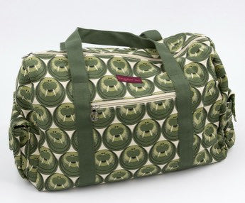 Bungalow360 Canvas Vegan Gym Bag (Walrus)