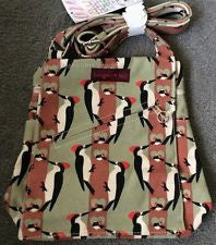 Bungalow360 Small Vegan Messenger Bag (Woodpecker)