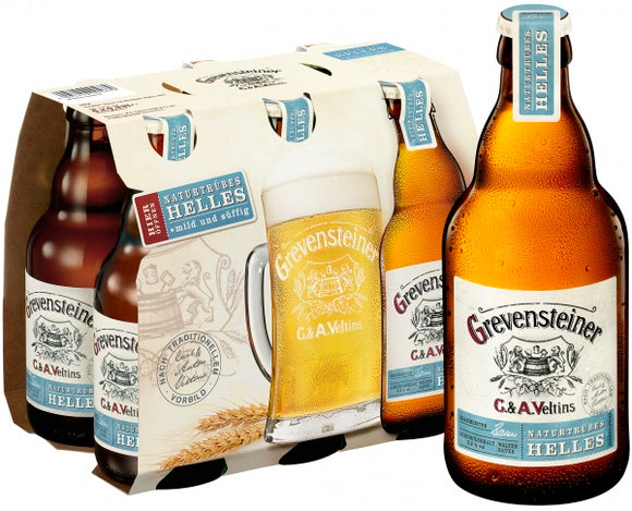 Grevensteiner Helles (500ml Bottle) 16-Pack