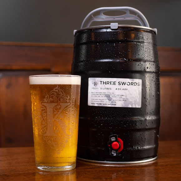 Three Swords (5 litre) Mini Cask