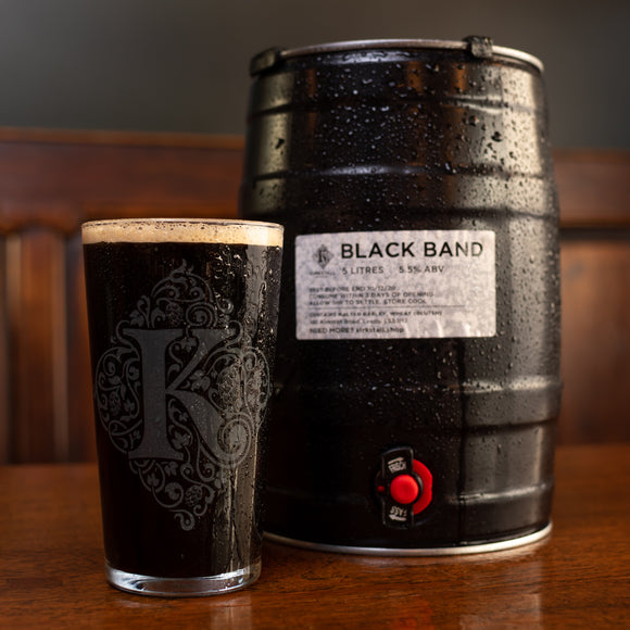 Black Band Porter (5 litre) Mini Cask