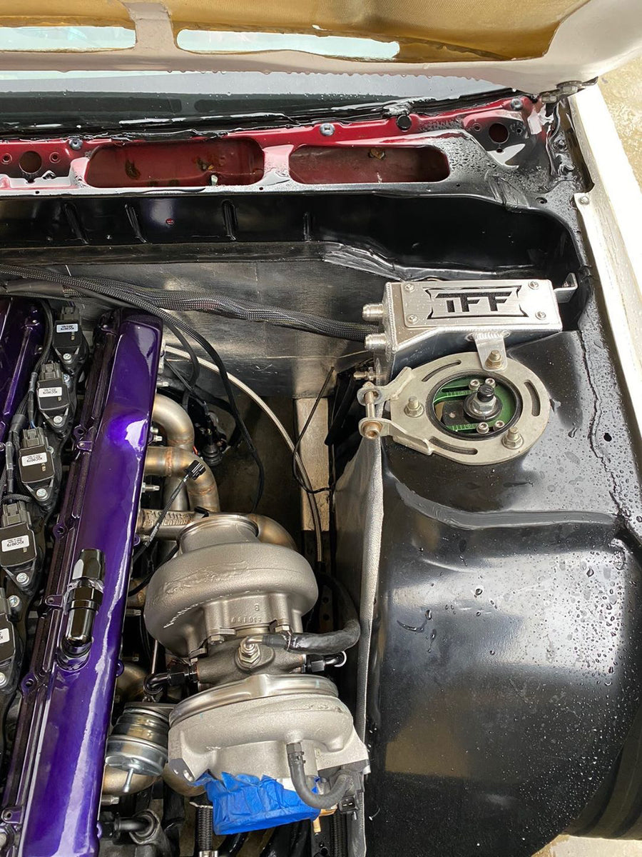 Nissan 180SX / 200SX S13 RHD - Tucked Oil Catch Can