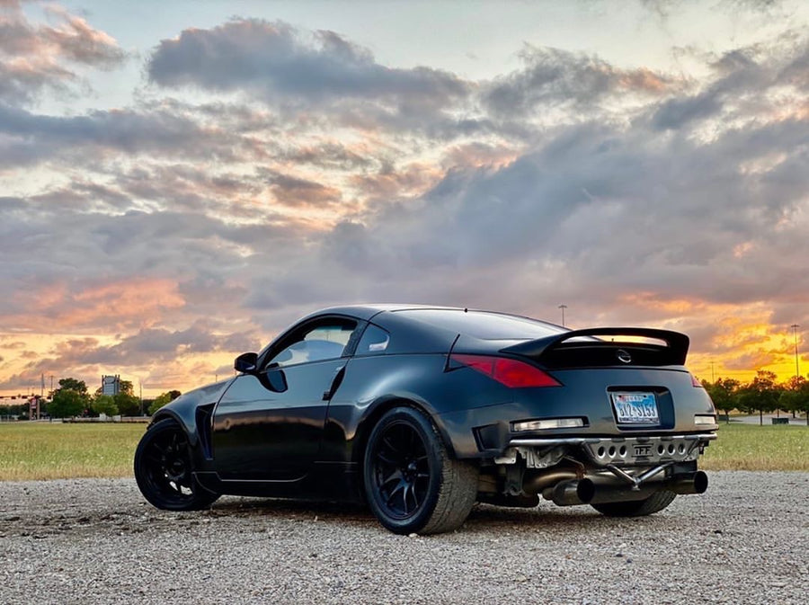 Nissan 350Z - Street Shark Rear Bash Bar