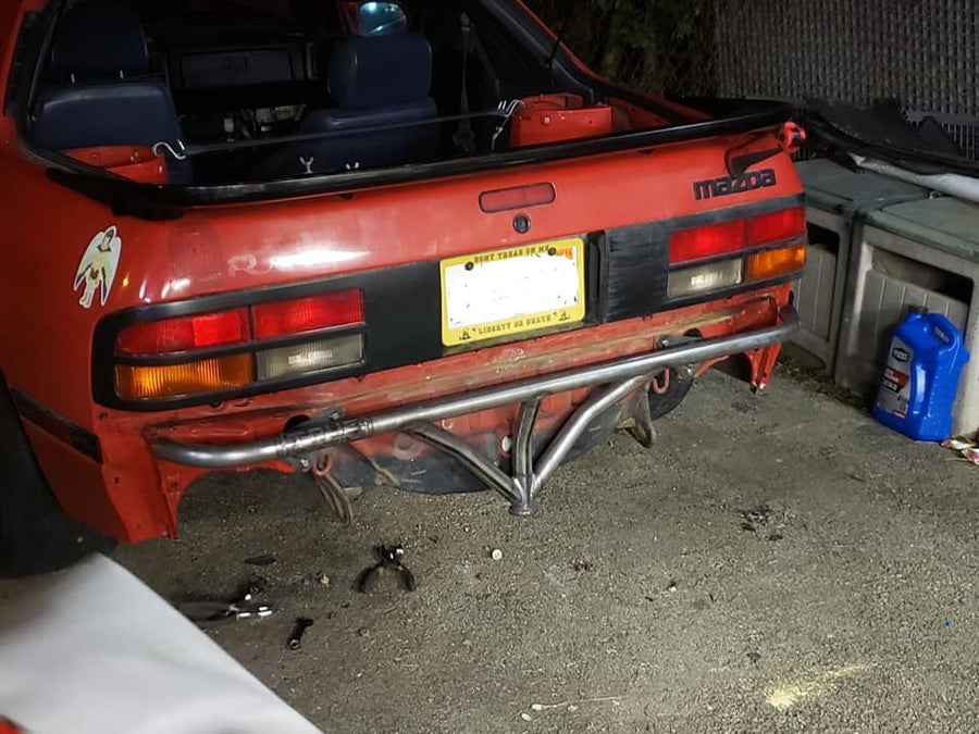 Mazda RX-7 FC - Rear Standard Bash Bar