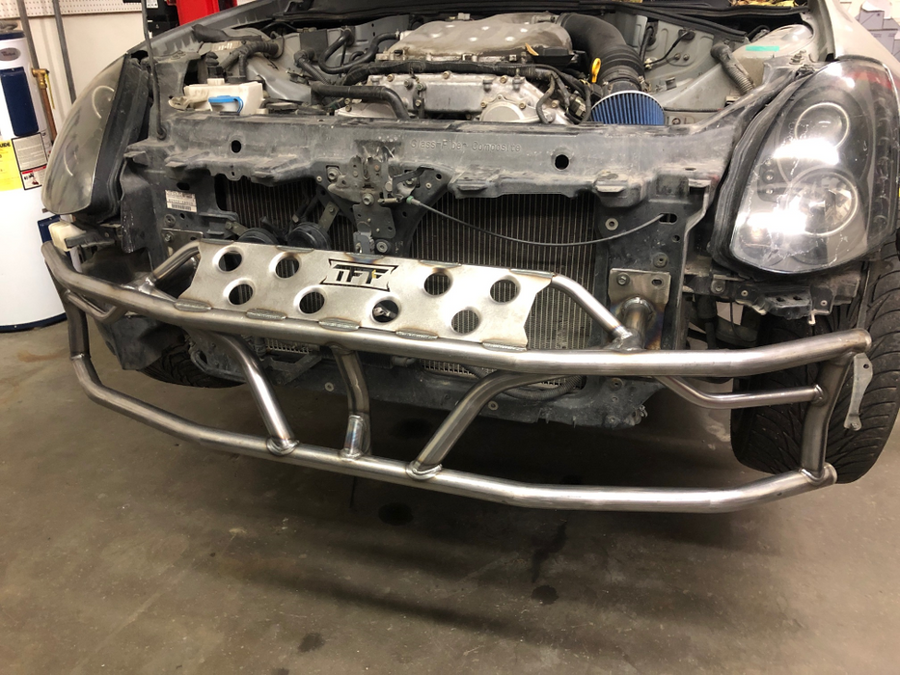 Infiniti G35 - Dual Row Front Bash Bar