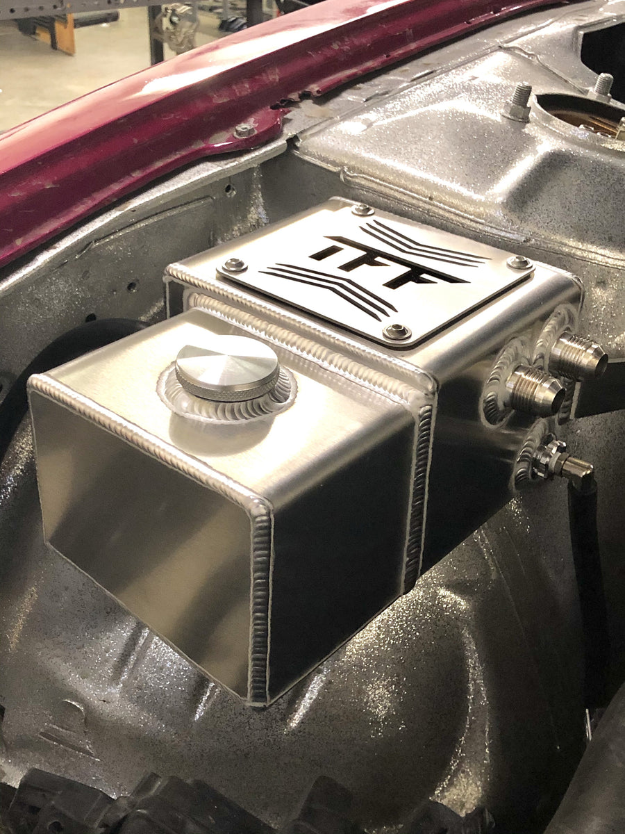 Nissan 240SX S14 Catch Can / Coolant Overflow Combo Tank