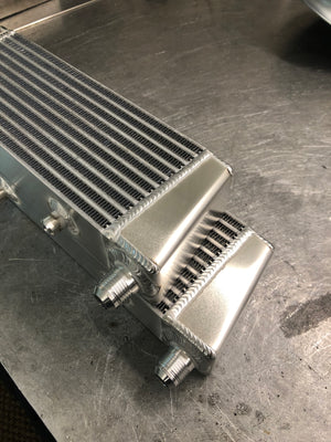 Universal Oil Cooler - Top Inlets