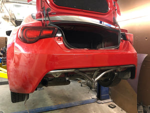 Scion FR-S / Subaru BRZ / Toyota GT86 - Rear Standard Bash Bar