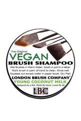 Vegan Solid Brush Shampoo: Young Coconut Milk