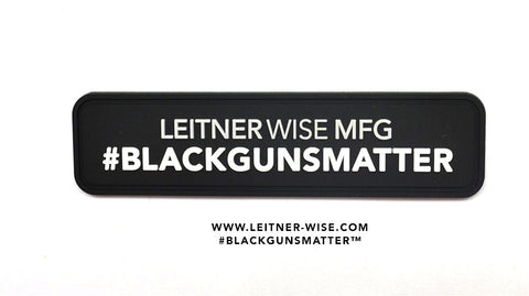 #Blackgunsmatter Patch