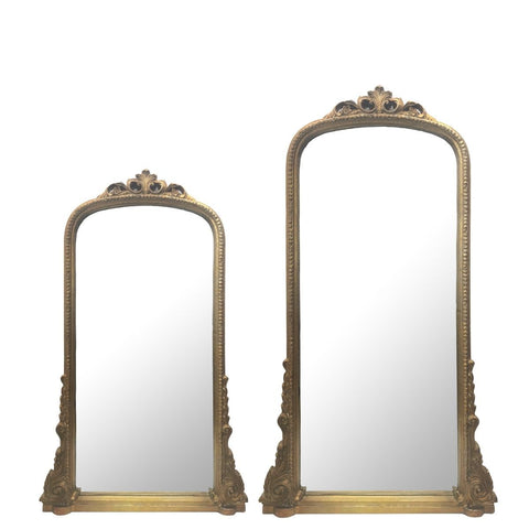 Arthur Antique French Vintage Wall Mirror Gold