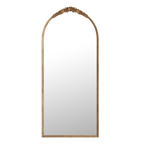 August Antique French Vintage Mirror Gold