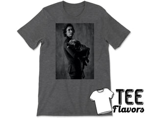 Adam Driver and His Dog Fashion Tee / T-Shirt