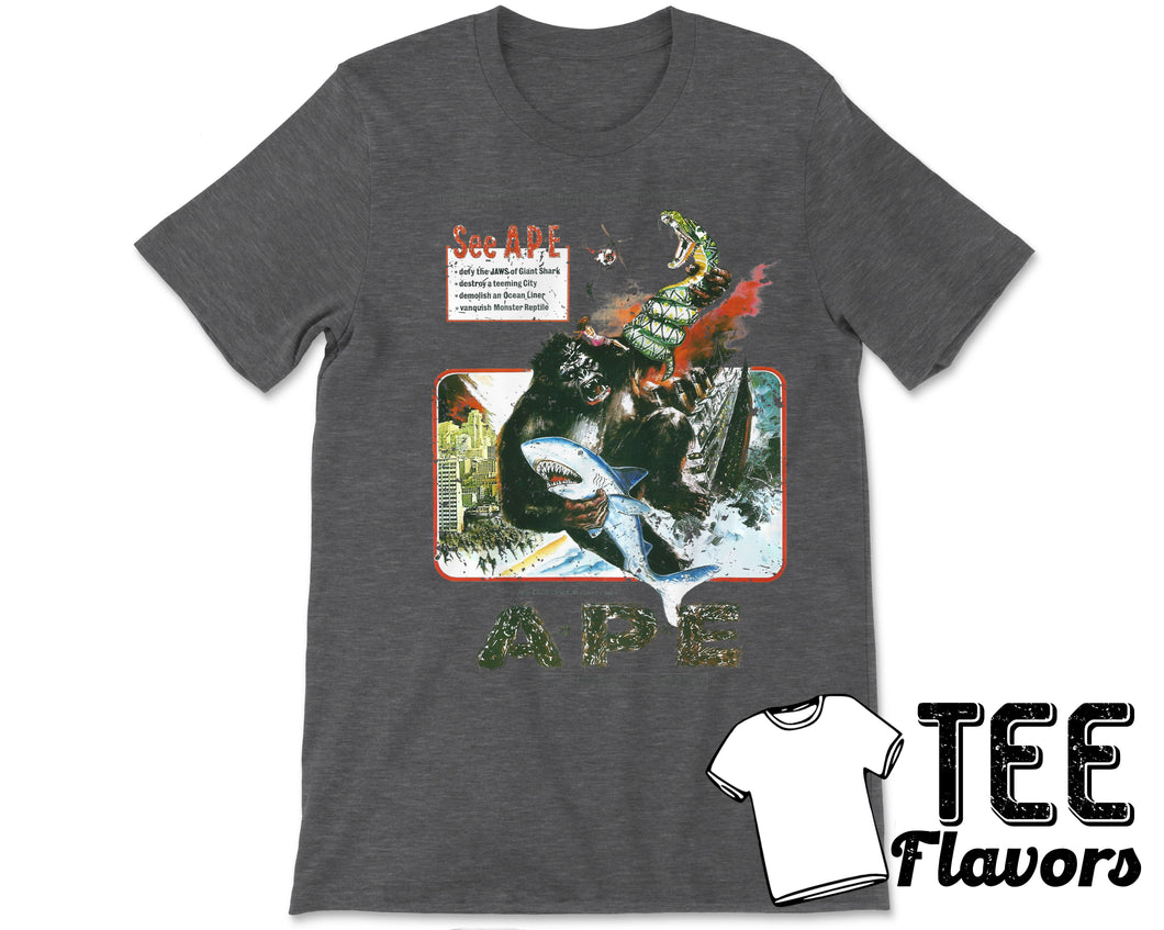 Ape 1976 Movie Not Your King Kong Tee / T-Shirt