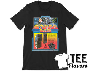 Asteroids Deluxe 1981 by Atari Arcade Video Game Tee / T-Shirt