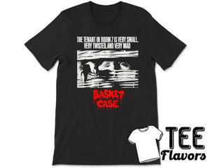 Basket Case 1982 American Cult Classic Horror Movie Tee / T-Shirt