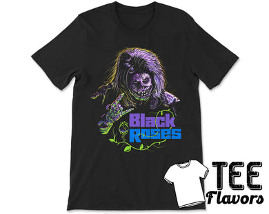 Black Roses 1988 Demonic Horror Movie Band Tee / T-Shirt