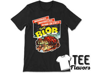 The Blob 1958 Sci-Fi Horror Movie Tee / T-Shirt
