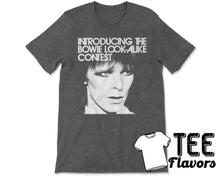 Load image into Gallery viewer, David Bowie Look Alike Contest Pop Rock Punk Music Tee / T-Shirt