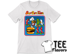 Load image into Gallery viewer, Burgertime 1982 Data East Arcade Game Tee / T-Shirt