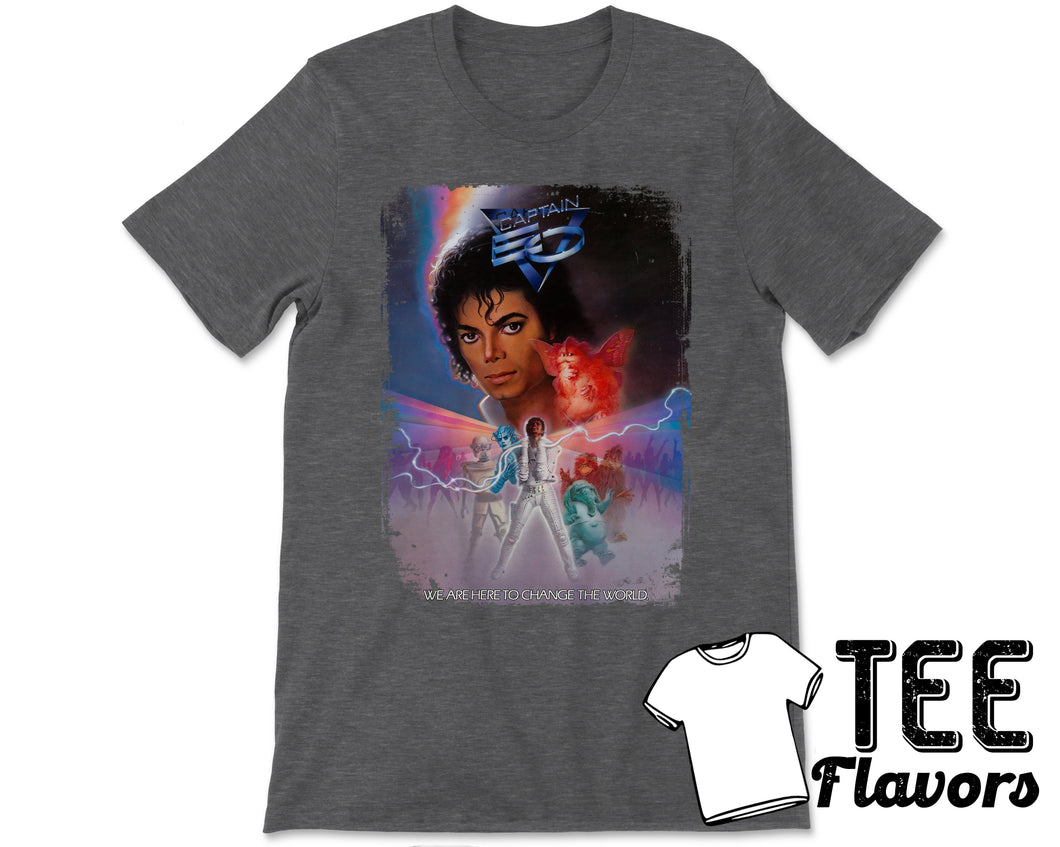 Captain EO Michael Jackson 1986 Disney 3D Sci-Fi Film Tee / T-Shirt