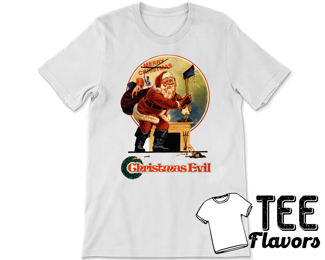 Christmas Evil 1980 Slasher Film Tee/T-shirt