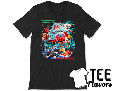 Christmas Evil 1980 American Psychological Slasher Movie Tee / T-Shirt