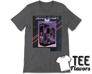 Discs Of Tron Vintage Arcade Video Game Tee / T-Shirt