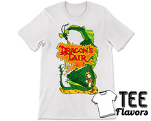 Load image into Gallery viewer, Dragon's Lair Don Bluth Retro Laserdisk Arcade Video Game Tee / T-Shirt