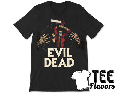Evil Dead Bruce Campbell Horror Movie Tee / T-Shirt