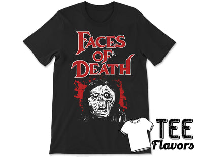 Faces of Death Gorgon Video MovieTee / T-Shirt