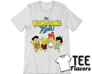 The Flinstone Kids: Fred,Wilma,Barney and Betty Tee / T-Shirt