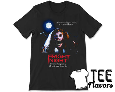 Fright Night Horror Vampire MovieTee / T-Shirt