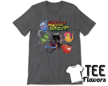 Load image into Gallery viewer, Gholly Ghost Arcade Shotter Video Game Tee / T-Shirt