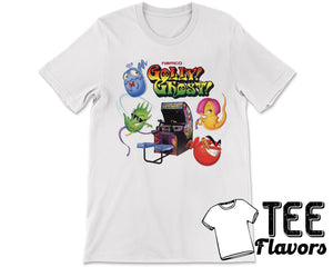 Gholly Ghost Arcade Shotter Video Game Tee / T-Shirt
